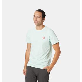 Mountain Hardwear Hardwear Logo Bluzka z krótkim rękawem Mężczyźni niebieski